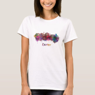 Exeter skyline in watercolor T-Shirt