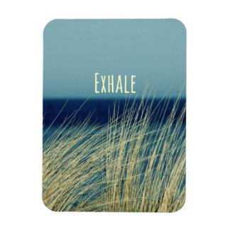 Exhale Calming Ocean Scene Magnet