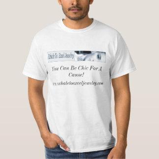 Exhale To Excel Jewelry Tshirrt T-shirts