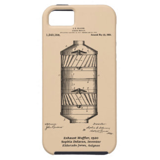 Exhaust Muffler, Sophia Delavan, Eldorado Jones iPhone 5 Case