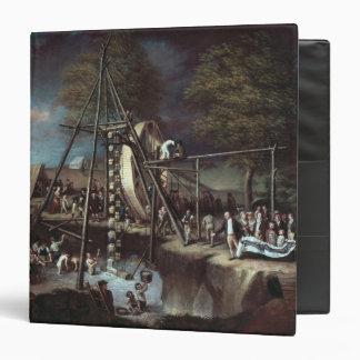Exhumation of the Mastodon, 1806 3 Ring Binder