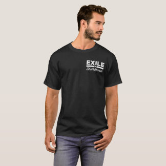Exile Skateboards T-Shirt Light Logo