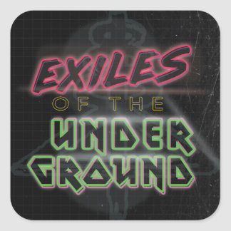 Exiles of the Underground Sticker Sheet of 20