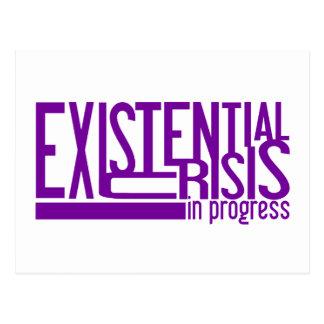 Existential Crisis postcard