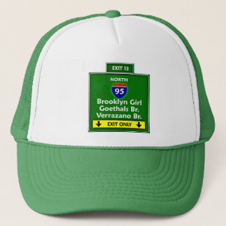 EXIT BKG TRUCKER HAT