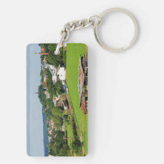 Exit from Frankenberg Keychain