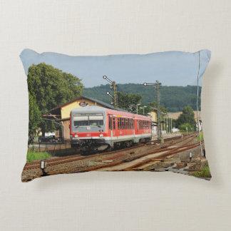 Exit from Glauburg Stockheim Decorative Pillow