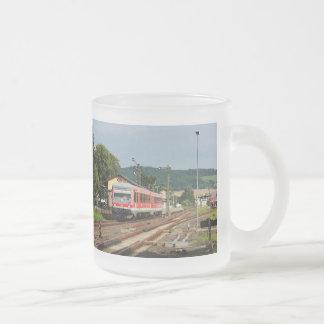 Exit from Glauburg Stockheim Frosted Glass Coffee Mug