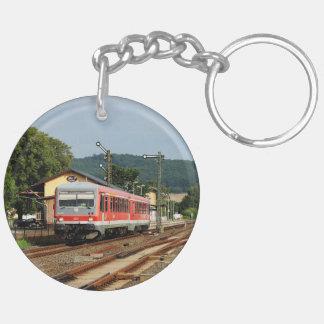 Exit from Glauburg Stockheim Keychain