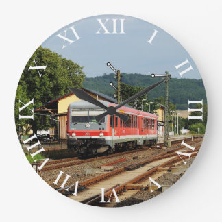 Exit from Glauburg Stockheim Large Clock