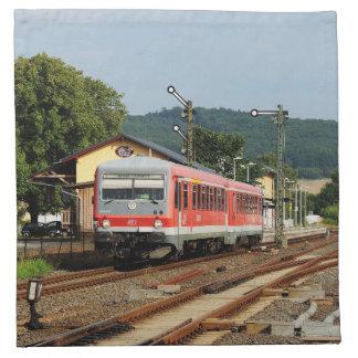 Exit from Glauburg Stockheim Napkin