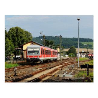 Exit from Glauburg Stockheim Postcard