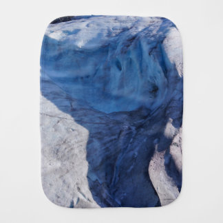 Exit Glacier Waves Burp Cloth