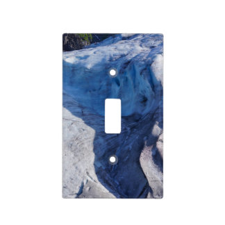 Exit Glacier Waves Light Switch Cover
