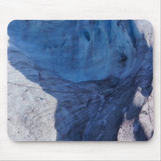 Exit Glacier Waves Mouse Pad