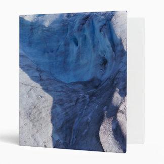 Exit Glacier Waves Vinyl Binder