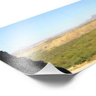 Exit of Santa Elena Canyon Panorama, Texas/Mexico Photograph