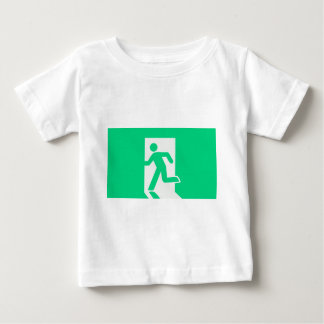 Exit Sign Baby T-Shirt