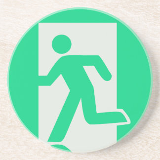 Exit Sign Coaster