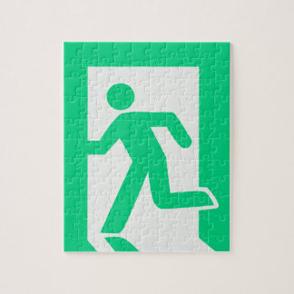 Exit Sign Jigsaw Puzzle