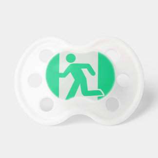 Exit Sign Pacifier