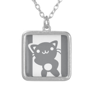 EXIT SILVER PLATED NECKLACE