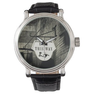 Exit This Way Wristwatch