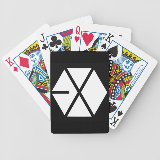 EXO playing card