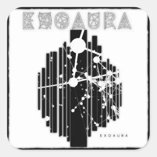 EXOAURA Sticker - Album Art gradient