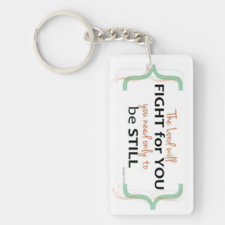 Exodus 14:14 Key chain