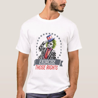 Exorcise Those Rights Tee Shirt (men's)