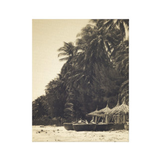 Exotic Beach Canvas Print