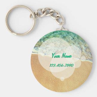 Exotic Beach Keychain