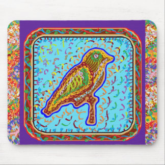 Exotic Birds by Naveen Mouse Pad