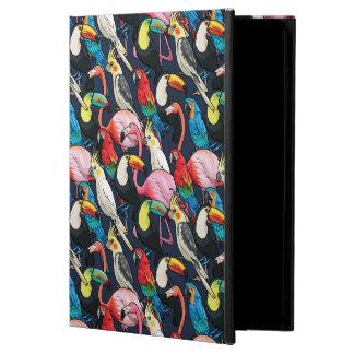 Exotic birds iPad air cases