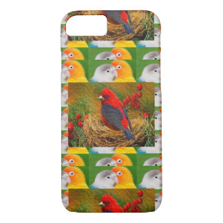 Exotic Birds Kids Mom Sister Zoo Fancy Pets iPhone 7 Case