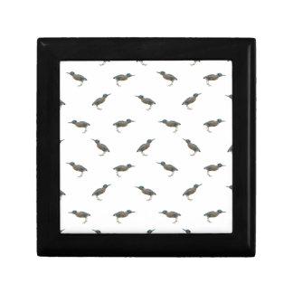 Exotic Birds Motif Pattern Jewelry Boxes
