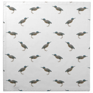 Exotic Birds Motif Pattern Napkin