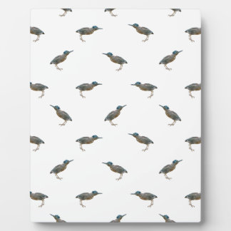 Exotic Birds Motif Pattern Plaque