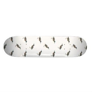Exotic Birds Motif Pattern Skateboard Deck