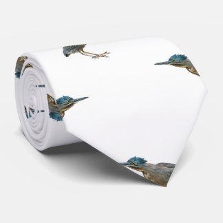 Exotic Birds Motif Pattern Tie