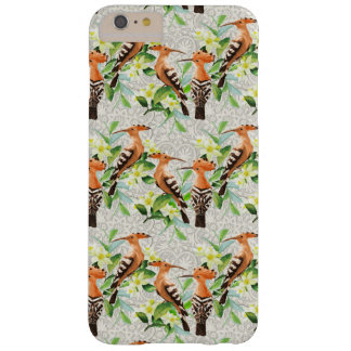 Exotic Birds On Lace Barely There iPhone 6 Plus Case