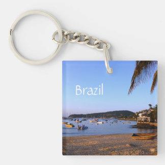 Exotic Brazilian Beach Keychain