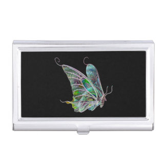 Exotic Butterfly Business Card Holder
