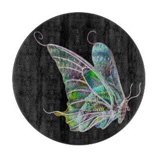 Exotic Butterfly Cutting Board