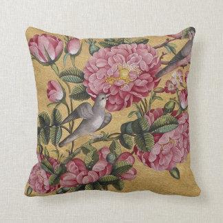 Exotic Camellias Throw Pillow