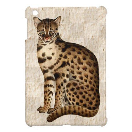 Exotic Cat iPad Mini Covers