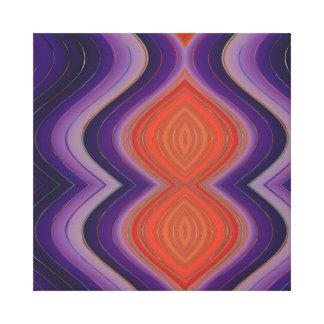 Exotic Colours Canvas Print
