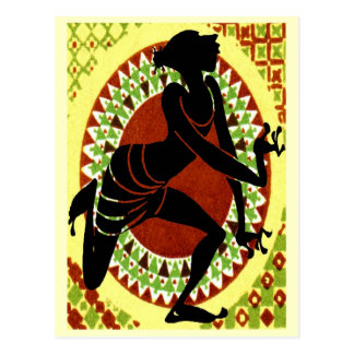 Exotic Dancer Postcard