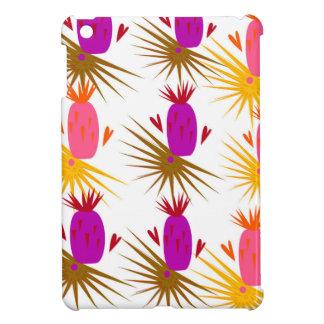 Exotic design ananases Pink Orange iPad Mini Case